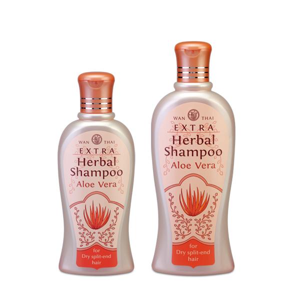 Extra Herbal Shampoo For dry split-end hair
