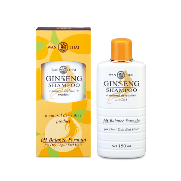 Ginseng Shampoo For dry hair