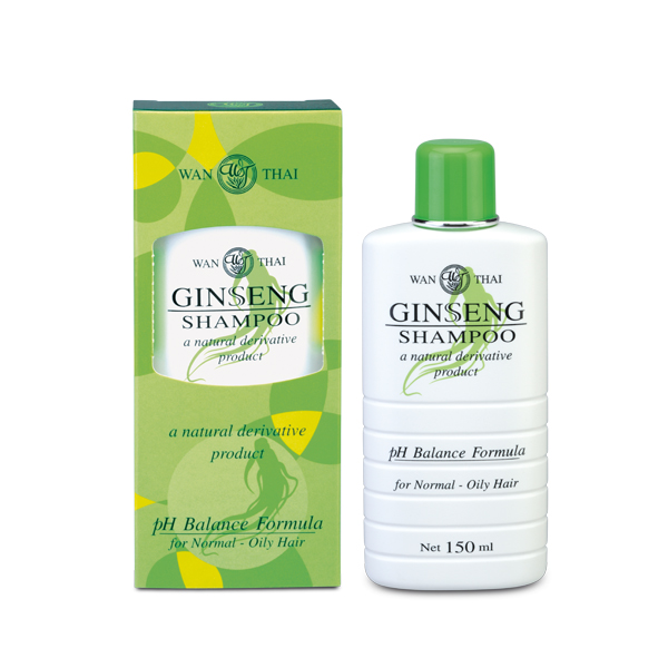 Ginseng Shampoo For normal hair