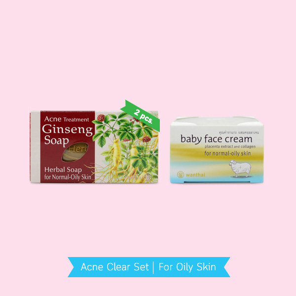 Acne Clear Set For Oily Skin