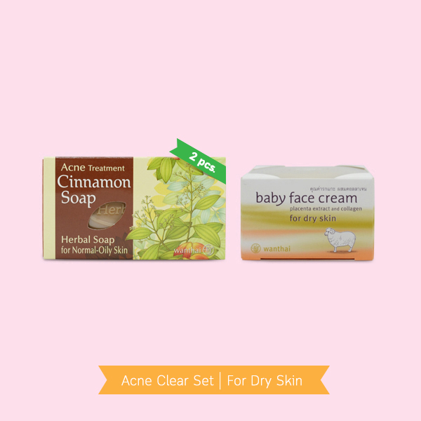 Acne Clear Set For Dry Skin