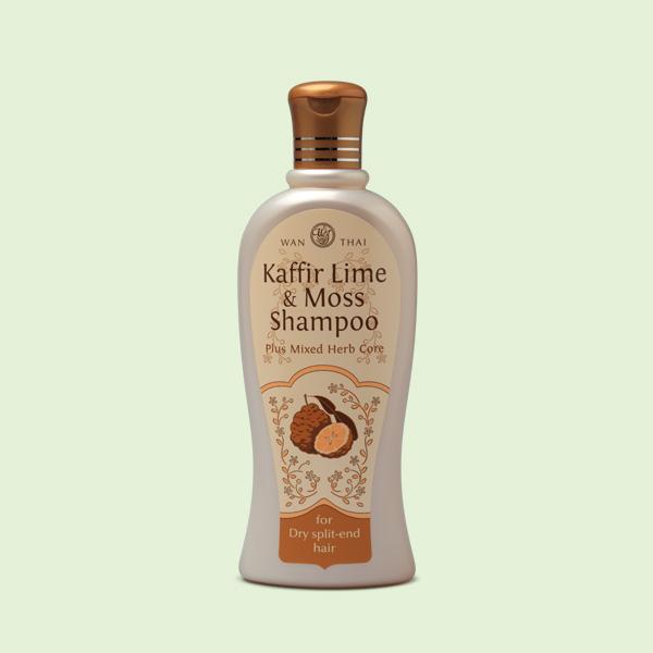 Kaffir Lime & Moss Shampoo For Dry split-end hair