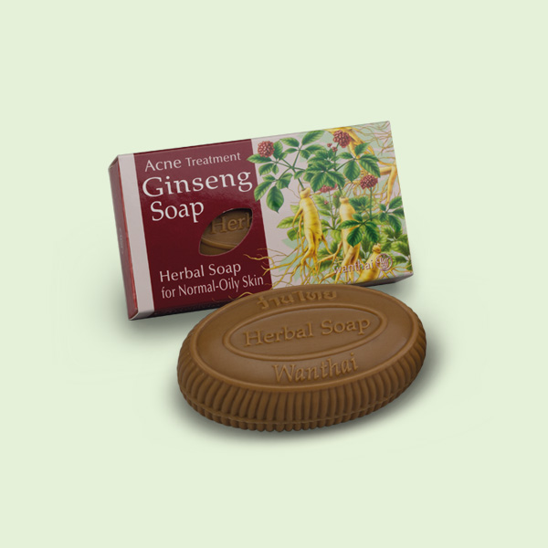 Ginseng Soap (For normal-oily skin)